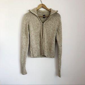 Gap Zip Up Sweater